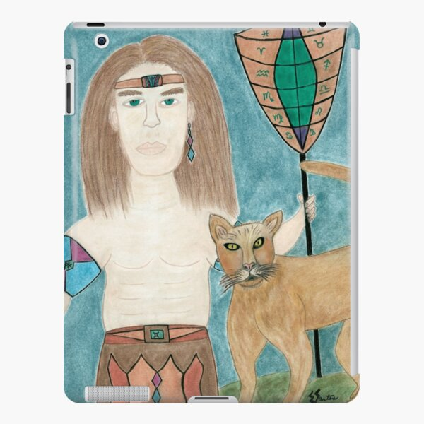 The Cougar Warrior Within iPad Snap Case