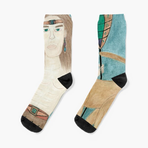 The Cougar Warrior Within Socks