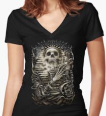 Winya No. 60 Women's Fitted V-Neck T-Shirt