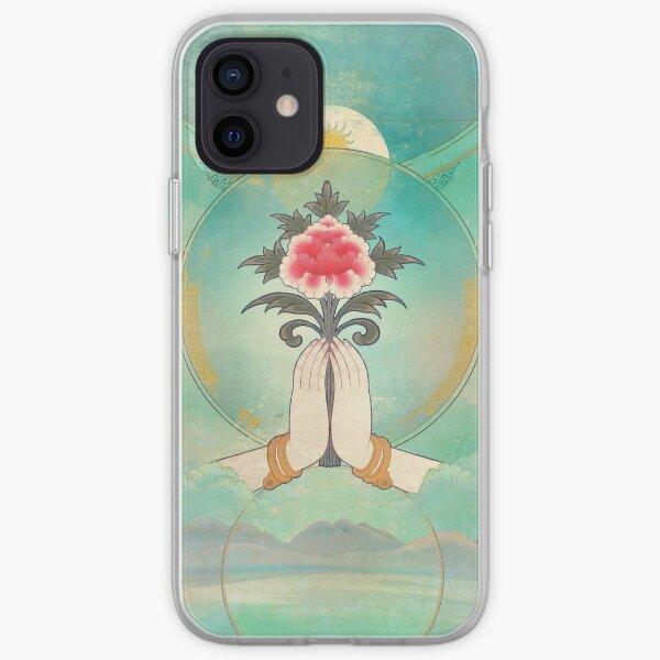 Divine Offering (Anjali Mudra) iPhone Soft Case