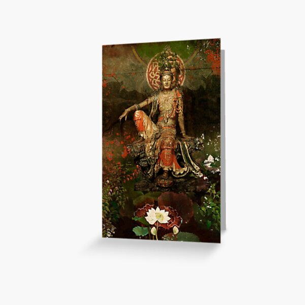 Kwanyin Greeting Card
