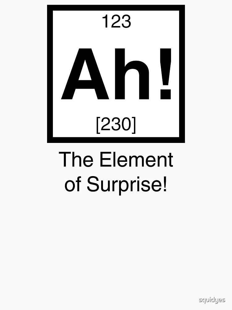 Ah! The element of surprise!  | Women's T-Shirt