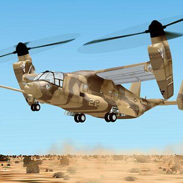 U.S. Marine Corps Osprey by Skyviper
