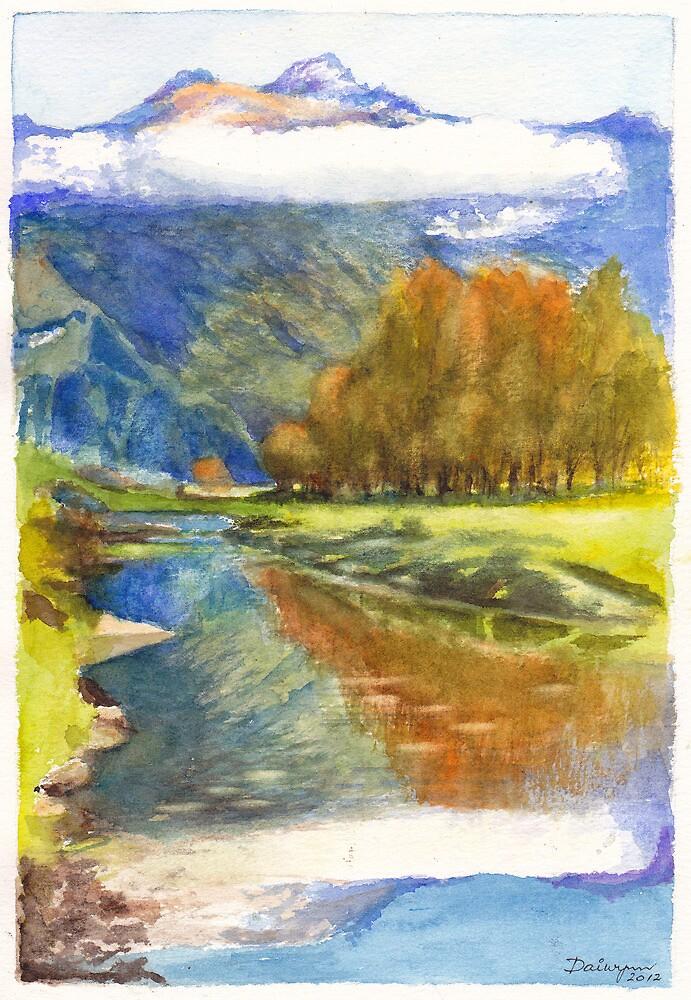 Aspiring Mirror by Dai Wynn