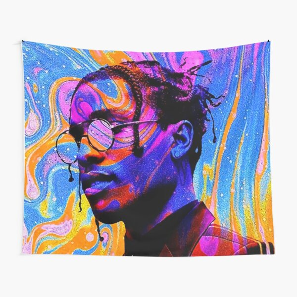 Rocky Tripping Wall Tapestry