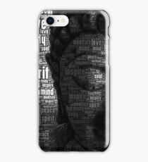 Buddha Words of Wisdom iPhone Case/Skin