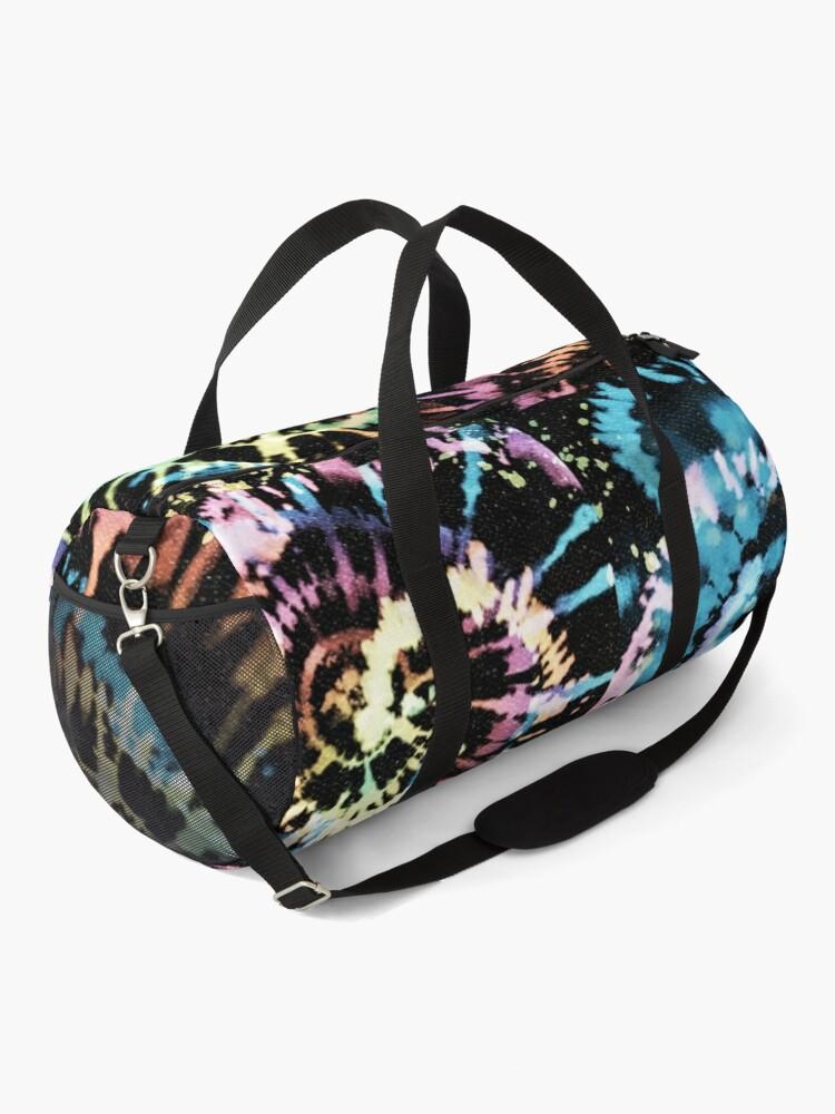 Alternate view of Rainbow Tie-Dye Blast Duffle Bag
