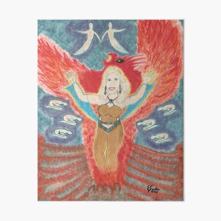 The Phenix Rising Art Board Print