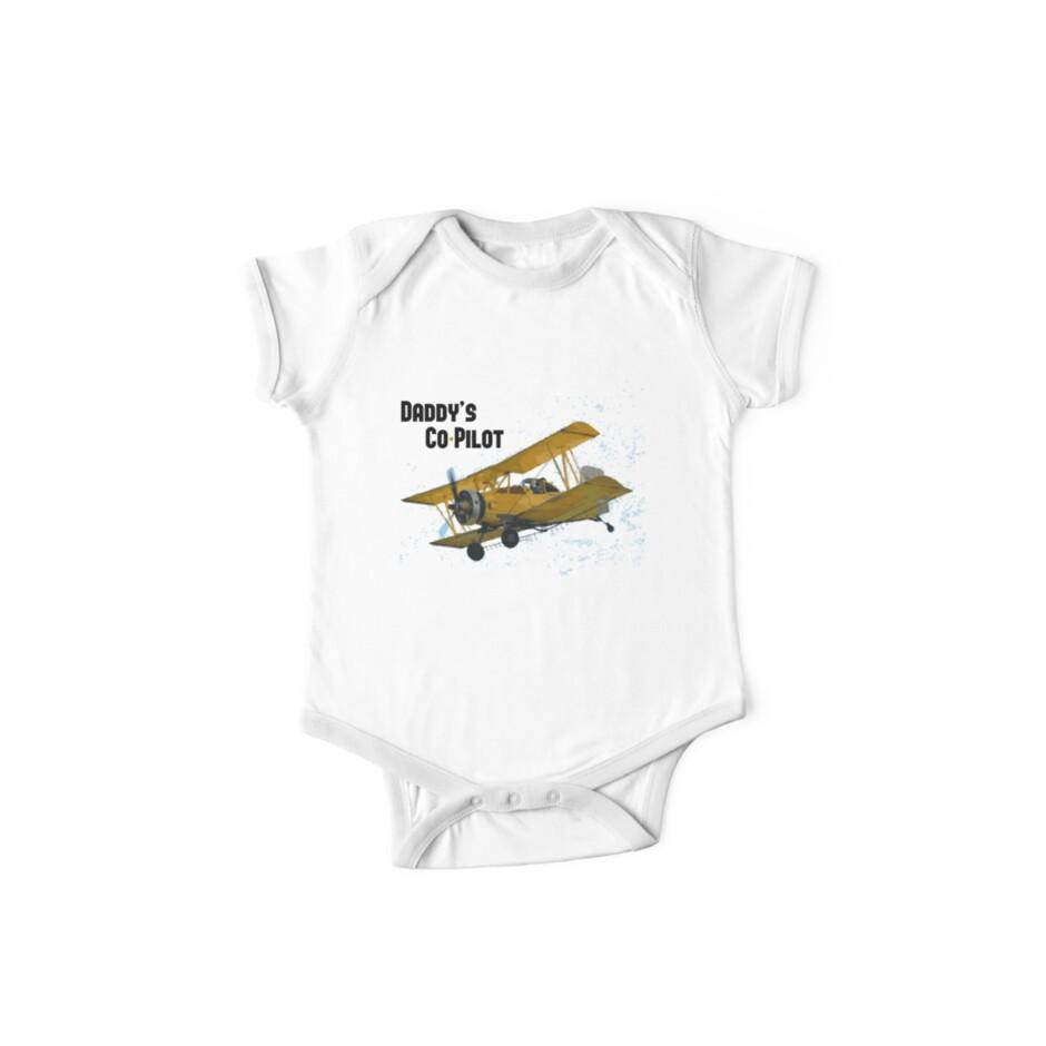 Daddy's Co-Pilot - Bi Plane by designerjenb