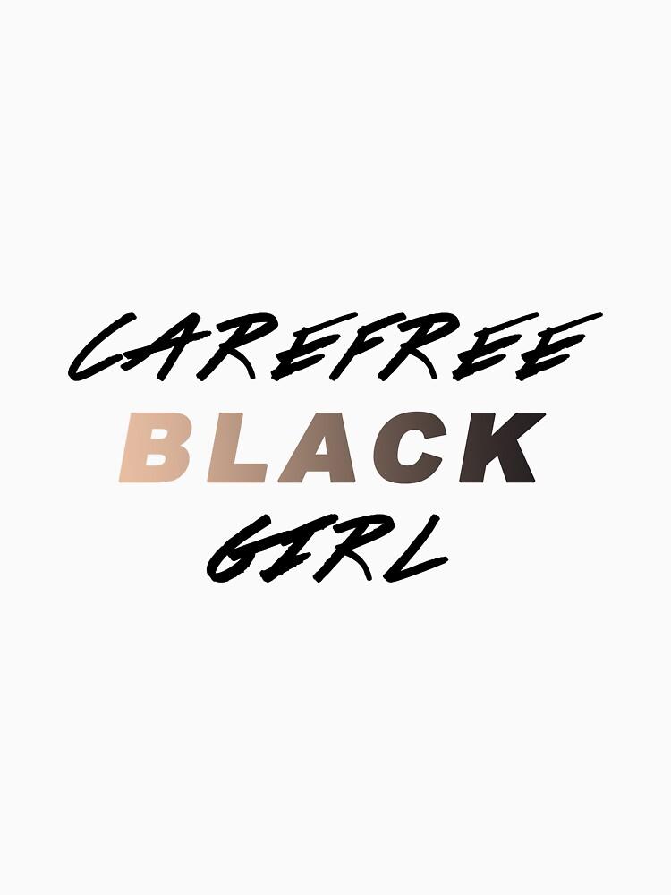 Carefree Black Girl by kitnolan