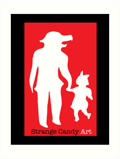 Strange Candy Art by Sheep-n-Wolves
