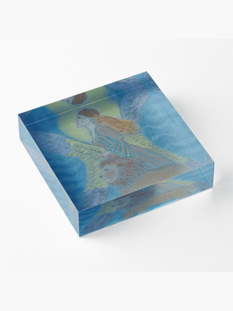 Alternate view of La Gitana (Gypsy) Warrior Goddess Acrylic Block
