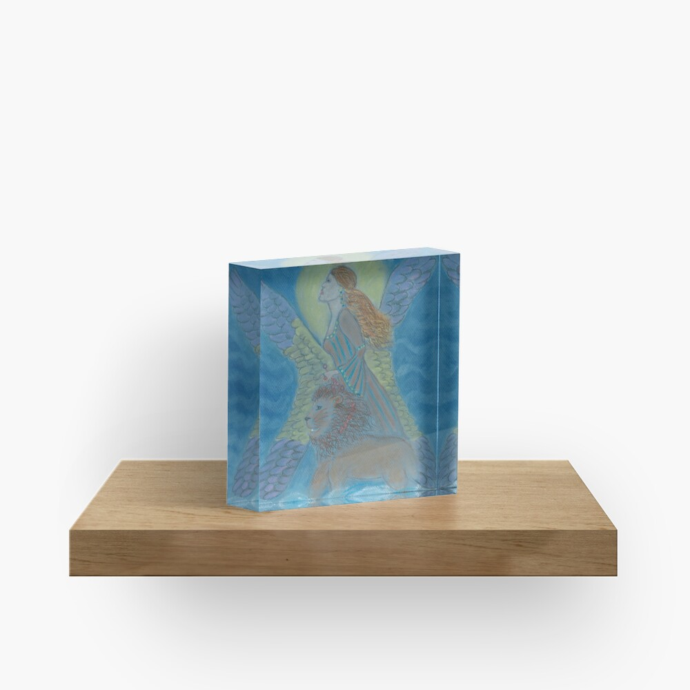 La Gitana (Gypsy) Warrior Goddess Acrylic Block