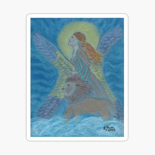 La Gitana (Gypsy) Warrior Goddess Sticker
