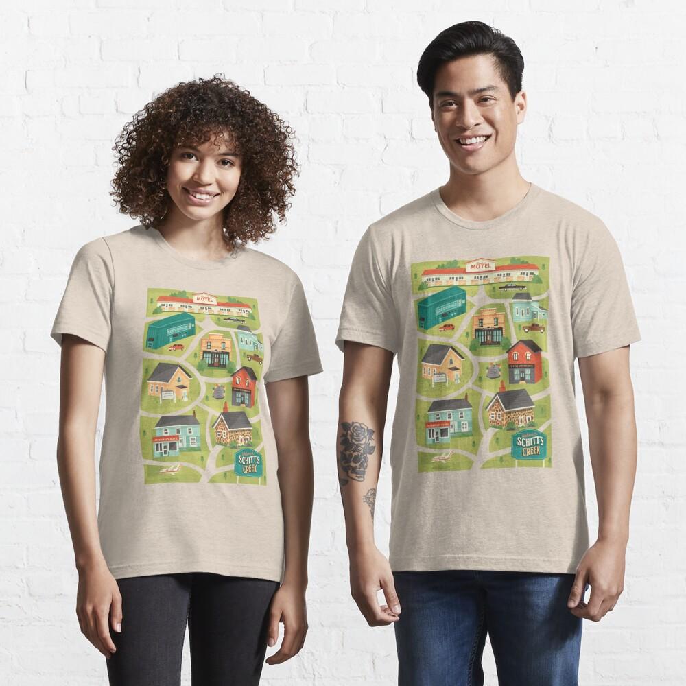 Schitt's Creek Town Map Essential T-Shirt