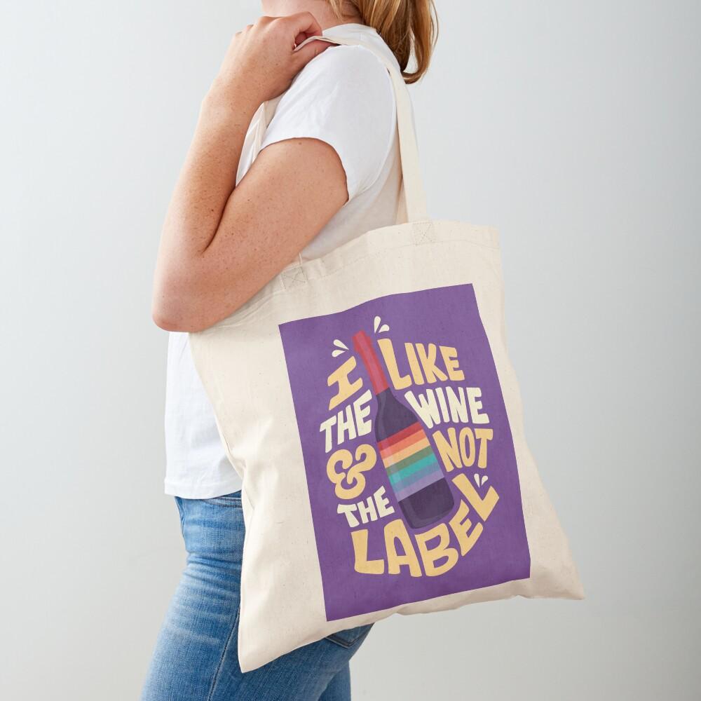 I like the wine Tote Bag