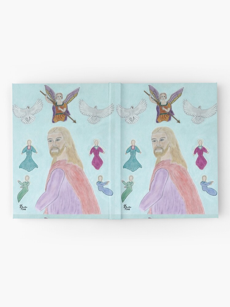 Alternate view of A Portrait of Jesus Hardcover Journal