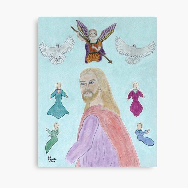 A Portrait of Jesus Canvas Print