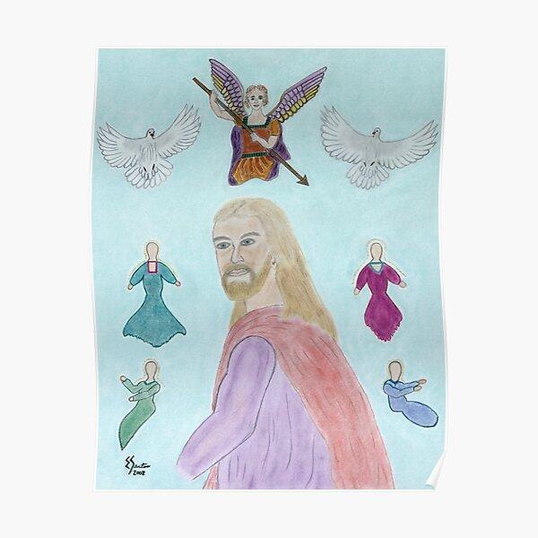 A Portrait of Jesus Poster