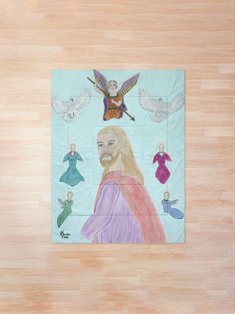 Alternate view of A Portrait of Jesus Comforter