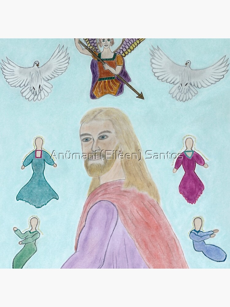 A Portrait of Jesus by anumani