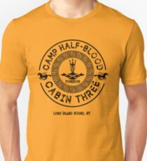 Percy Jackson - Camp Half-Blood - Cabin Three - Poseidon T-Shirt