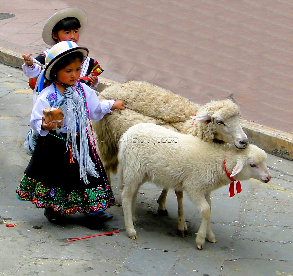 Cuenca Kids 233 by Al Bourassa