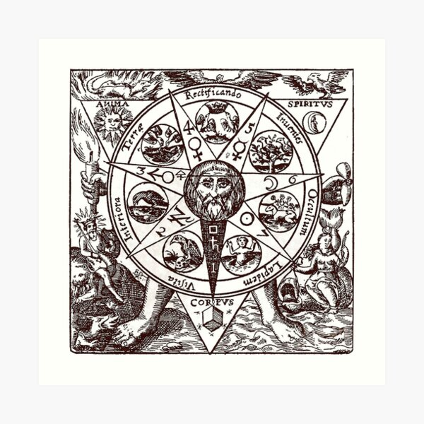 Azoth of the Philosophers Art Print