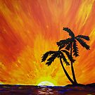 Tropical Sunset by Guy Wann