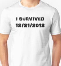 I Survived December 21st 2012 - USA version Unisex T-Shirt