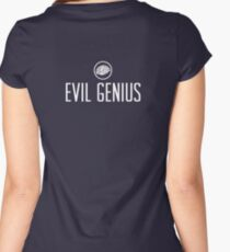 Evil Genius Women's Fitted Scoop T-Shirt