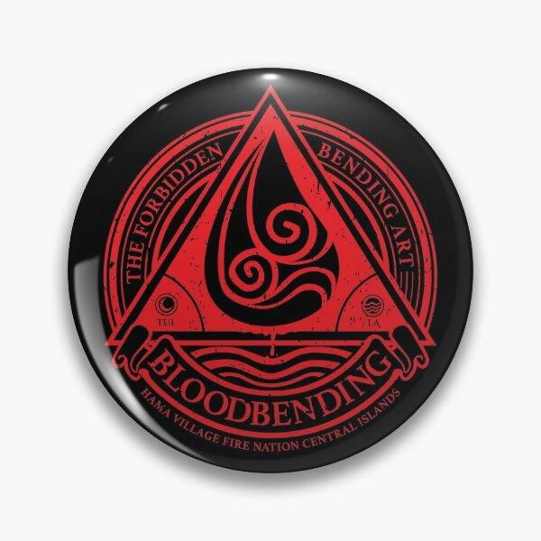 ATLA Bloodbending, Avatar The Last Airbender-Inspired Design Pin
