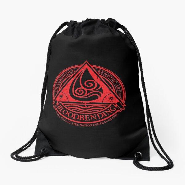 ATLA Bloodbending, Avatar The Last Airbender-Inspired Design Drawstring Bag