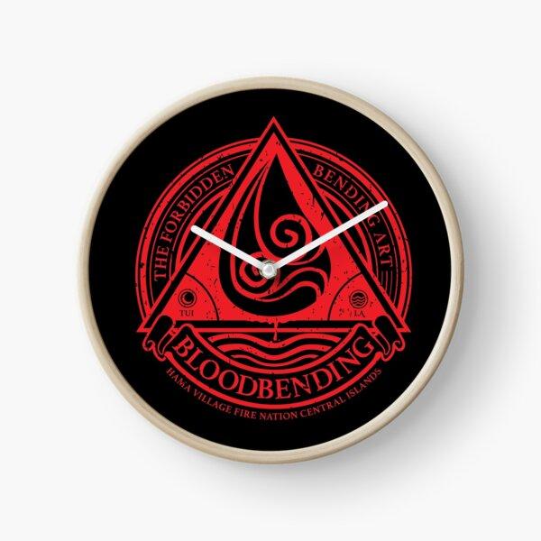 ATLA Bloodbending, Avatar The Last Airbender-Inspired Design Clock