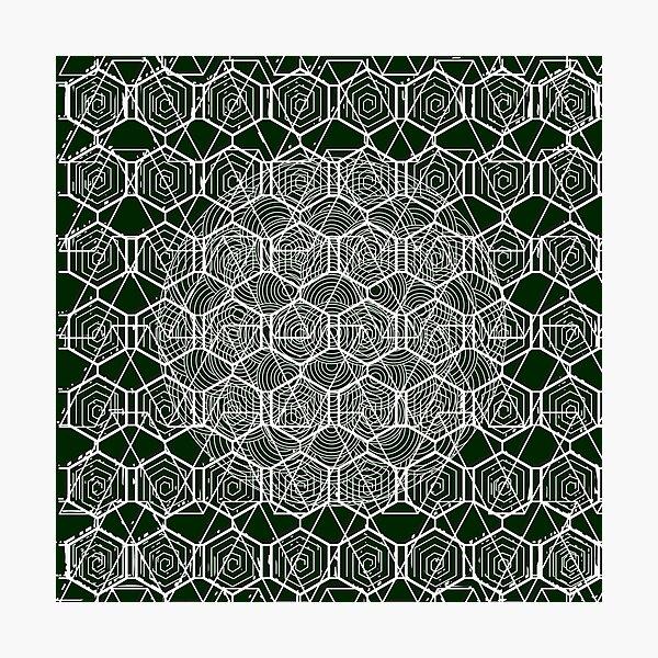 Tribal Pattern Design  Photographic Print
