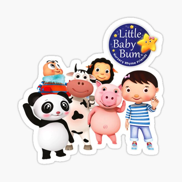 """""""Kids Little Baby Bum Character Group"""" Sticker by Tu123 ..."""