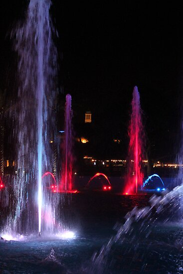 Night Fountains by Bob Hardy