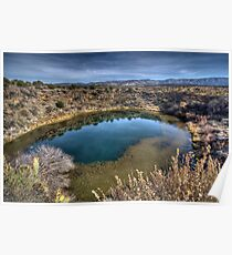 Montezuma Well - Rimrock, AZ USA Poster