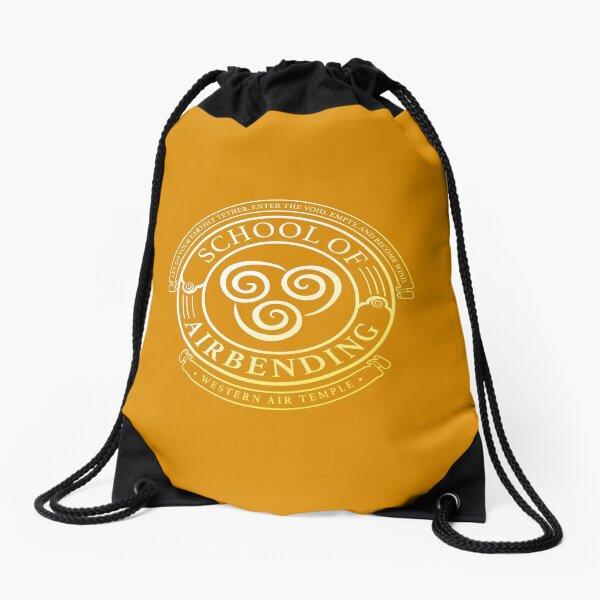 ATLA School of Abending: Avatar Inspired-Design Drawstring Bag