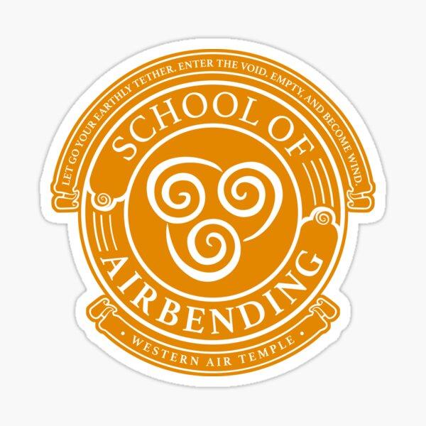 Avatar School of Airbending, Avatar-Inspired Design Sticker