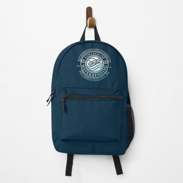 ATLA College of Waterbending: Avatar Inspired-Design Backpack