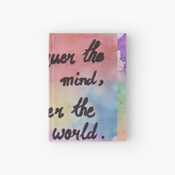 water color pattern  Hardcover Journal