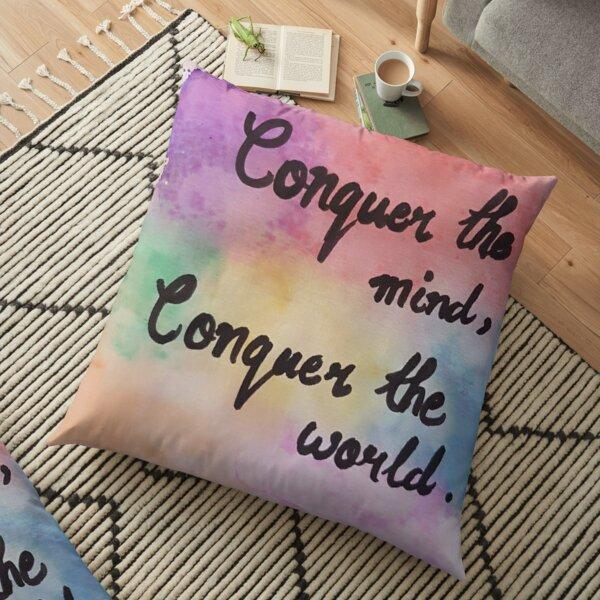 water color pattern  Floor Pillow