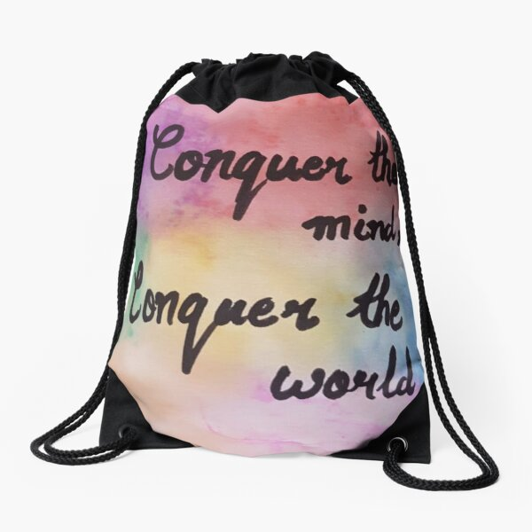 water color pattern  Drawstring Bag