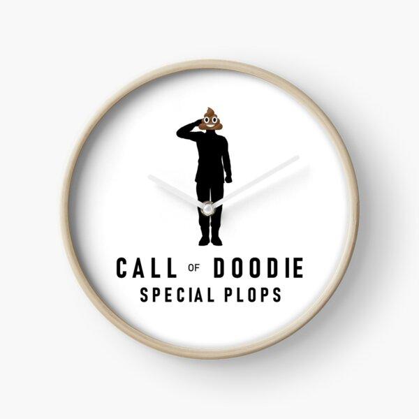 Call of Doodie Clock