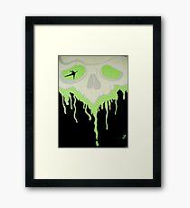 Bleeding Green Framed Print