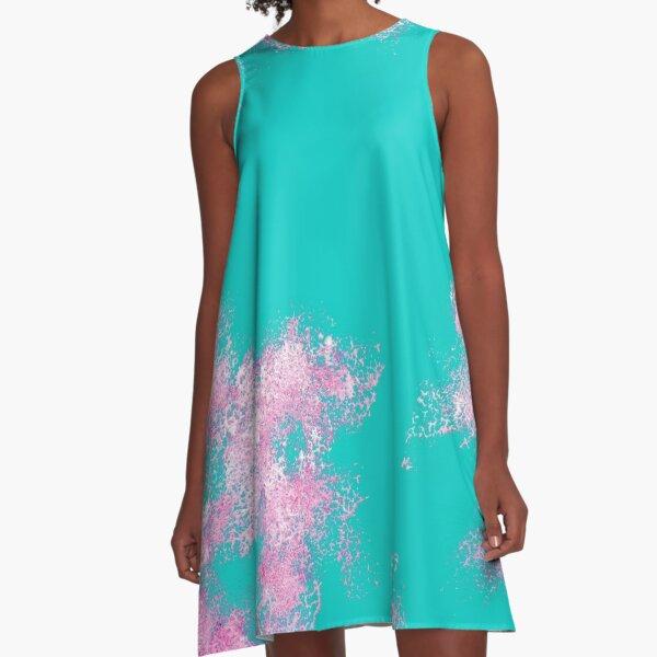 Caduceus's Green Beetle Breastplate A-Line Dress