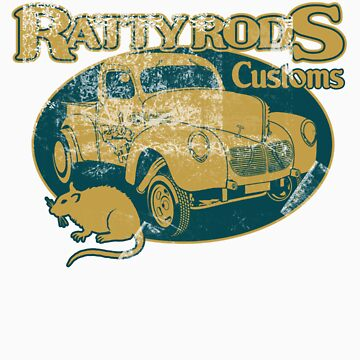 Ratty Rods Customs - vintage by limey57