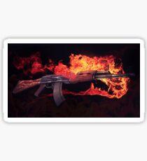 CSGO Gun Series   AK-47 FIRE Sticker
