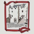 Castle Aaarrgh Tourist-Border by chewietoo